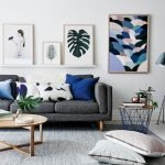 Modern Living Room Ideas With Grey Coloring 19