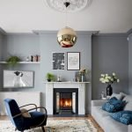 Modern Living Room Ideas With Grey Coloring 24