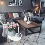 Modern Living Room Ideas With Grey Coloring 31