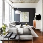 Modern Living Room Ideas With Grey Coloring 32