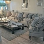 Modern Living Room Ideas With Grey Coloring 35