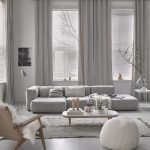 Modern Living Room Ideas With Grey Coloring 37