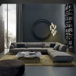Modern Living Room Ideas With Grey Coloring 46