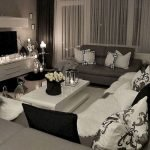 Modern Living Room Ideas With Grey Coloring 49