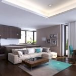 Modern Living Room Ideas With Grey Coloring 71