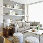 Modern Living Room Ideas With Grey Coloring 84