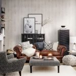 Modern Living Room Ideas With Grey Coloring 105