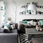 Modern Living Room Ideas With Grey Coloring 106