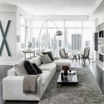 Modern Living Room Ideas With Grey Coloring 109