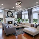 Modern Living Room Ideas With Grey Coloring 125