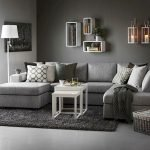 Modern Living Room Ideas With Grey Coloring 127