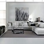 Modern Living Room Ideas With Grey Coloring 145