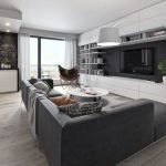 Modern Living Room Ideas With Grey Coloring 149