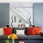 Modern Living Room Ideas With Grey Coloring 152