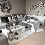 Modern Living Room Ideas With Grey Coloring 153