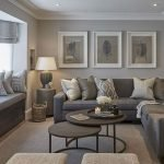 Modern Living Room Ideas With Grey Coloring 154