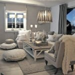 Modern Living Room Ideas With Grey Coloring 157