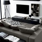 Modern Living Room Ideas With Grey Coloring 158