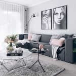 Modern Living Room Ideas With Grey Coloring 165