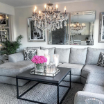 Modern Living Room Ideas With Grey Coloring 166
