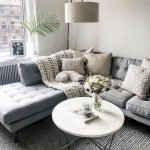 Modern Living Room Ideas With Grey Coloring 172