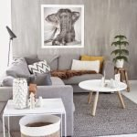 Modern Living Room Ideas With Grey Coloring 175