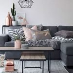 Modern Living Room Ideas With Grey Coloring 188