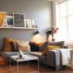 Modern Living Room Ideas With Grey Coloring 191