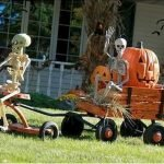 Amazing Spooky Halloween Decorations For One Ghostly Atmosphere 45