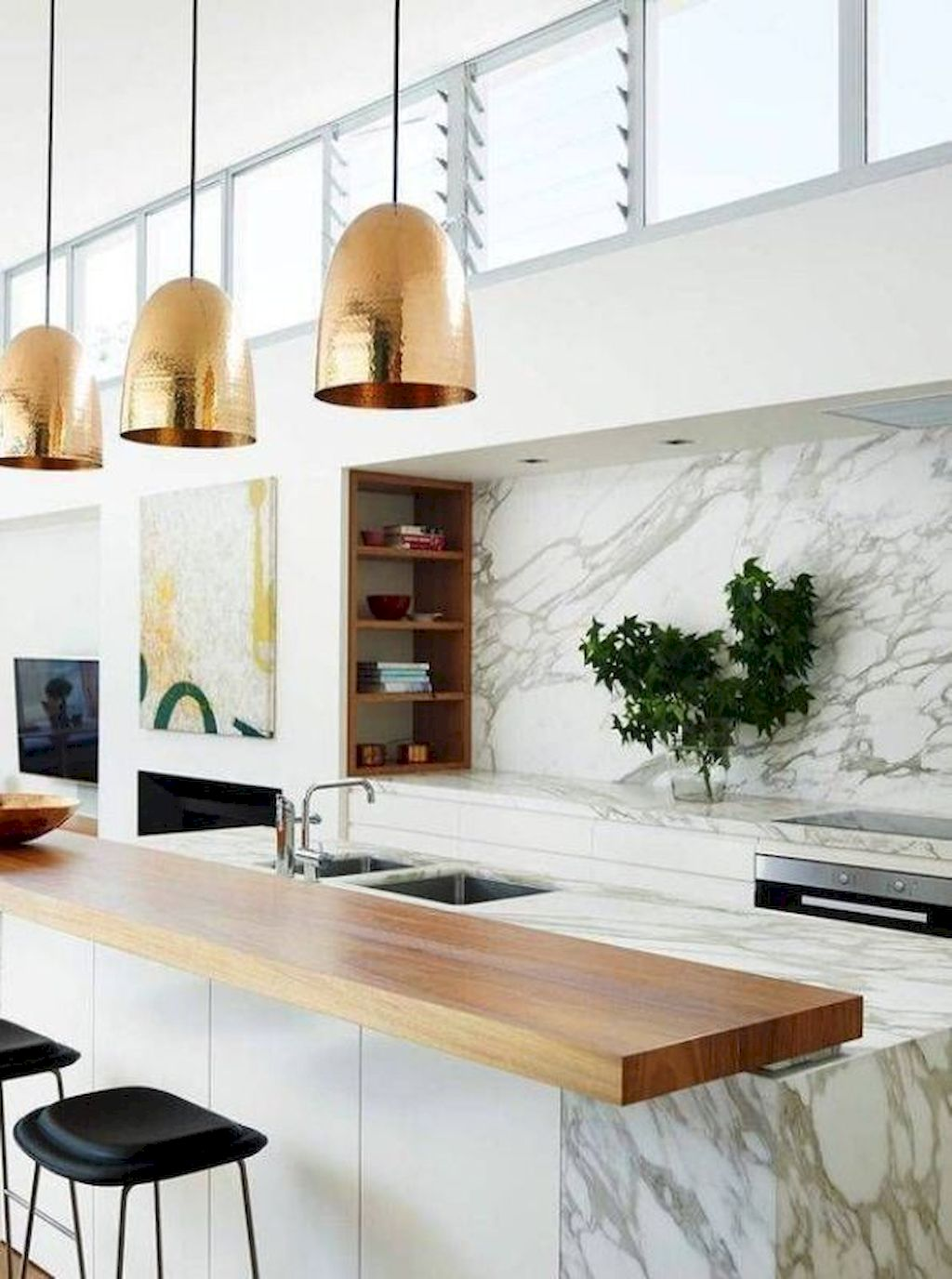 Fabulous Kitchen Backsplash Ideas For a Clean Culinary Experience 55