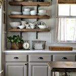 Makeover Your Kitchen Cabinets for More Storage And More Floor Space 9
