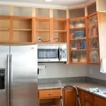 Makeover Your Kitchen Cabinets for More Storage And More Floor Space 17