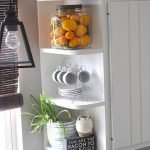 Makeover Your Kitchen Cabinets for More Storage And More Floor Space 29