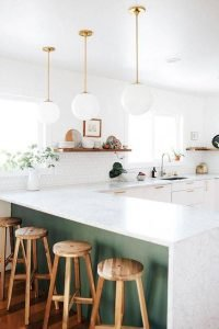 Stunning Minimalist Kitchen Decoration Ideas 42