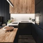 Stunning Minimalist Kitchen Decoration Ideas 158