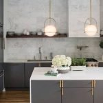 Stunning Minimalist Kitchen Decoration Ideas 163