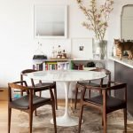 Round Dining Room Tables Decoration Ideas 6