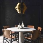 Round Dining Room Tables Decoration Ideas 13