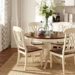 Round Dining Room Tables Decoration Ideas 20