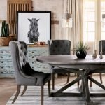 Round Dining Room Tables Decoration Ideas 21