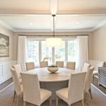 Round Dining Room Tables Decoration Ideas 24