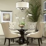 Round Dining Room Tables Decoration Ideas 26