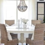 Round Dining Room Tables Decoration Ideas 28