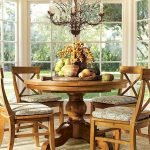Round Dining Room Tables Decoration Ideas 31