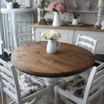 Round Dining Room Tables Decoration Ideas 39