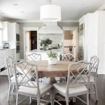 Round Dining Room Tables Decoration Ideas 43