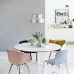 Round Dining Room Tables Decoration Ideas 47