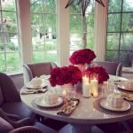 Round Dining Room Tables Decoration Ideas 50