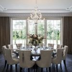 Round Dining Room Tables Decoration Ideas 54