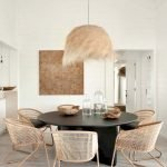 Round Dining Room Tables Decoration Ideas 63